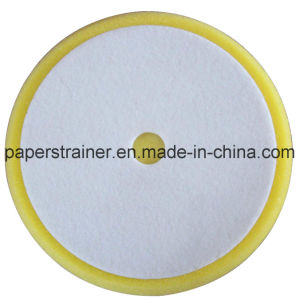 Foam Polishing Pad Yellow 230mm pictures & photos