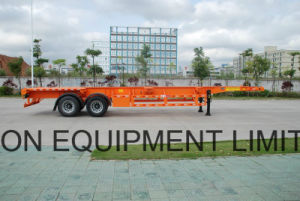 40feet 2 Axles Skeleton Container Semi - Trailer pictures & photos