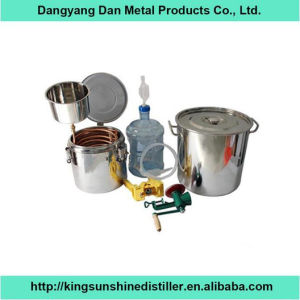 Home DIY Stainless Steel Mini Beer Brewing Equipment 30L pictures & photos