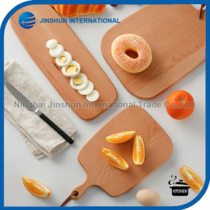 Eco-Friendly Beech Solid Wood Food Cutting Board pictures & photos