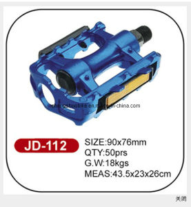 Blue Alloy Bike Pedal Jd-112 of High Standard Quality pictures & photos