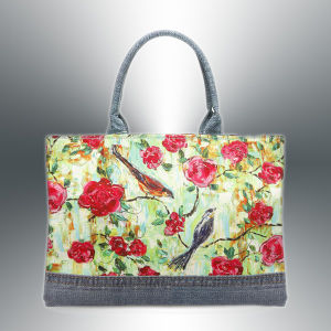 Fashion Linen Digital Printed Bag for Shopping pictures & photos