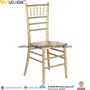 Cheap Wood Stackable Tiffany Chair for Banquet pictures & photos