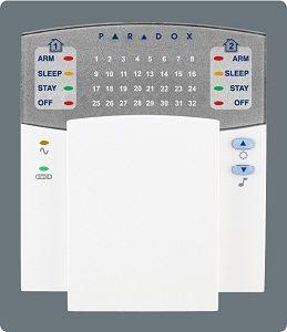 32-Zone Paradox LED Keyboard, New Keypad, Alarm Keyboard (K32) pictures & photos