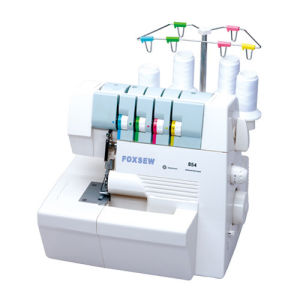 4- Thread Household Overlock Sewing Machine pictures & photos