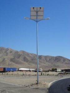 Solar Street Light with Double Arm with Dimmable Function