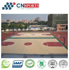 Wooden Texture Sport Playground Flooring for Indoor/Outdoor Basketball Floor pictures & photos