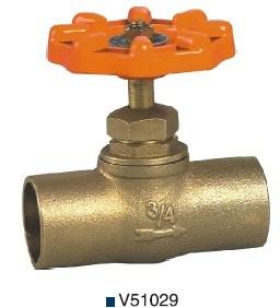 Bronze/Brass Welding Stop Valve (V51029) pictures & photos