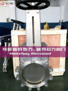 No Leakage Wafer Lug Type Knife Gate Valve pictures & photos