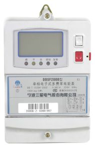 Single-Phase Multi-Tariff Static Meter (DDSF2000 E3)