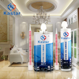Waterproof Colored Epoxy Tile Adhesive for Washroom pictures & photos