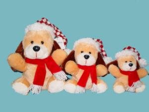Plush Toy (Christmas Dog)