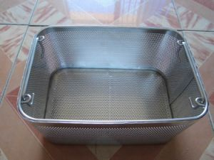 Stainless Steel Perforated Mesh Basket pictures & photos