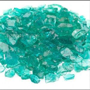 Landscaping Green Crushed Glass Chips pictures & photos