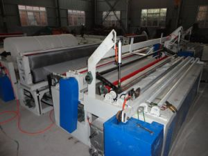 Guangmao High Quality Automatic Tissue Paper Rewinding and Perforating Machine pictures & photos