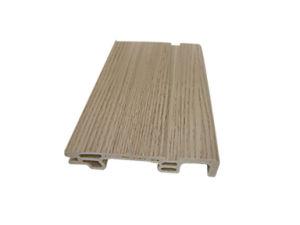 Wood Plastic Composite WPC Material Anti-Termite Skirting (PT-7515B-1) pictures & photos