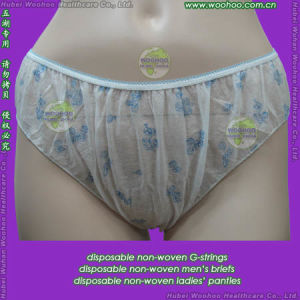 Nonwoven Ladies Panties pictures & photos