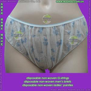 Nonwoven Ladies Panties pictures & photos