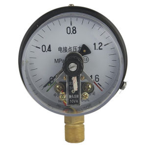 Electric Contact Pressure Gauge (TYPE B) pictures & photos
