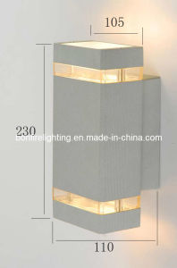 Popular IP 54 Waterproof Outdoor up and Down Wall Light