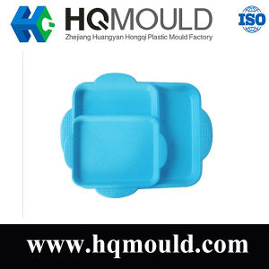 Good Quality Plastic Plate Tray Injection Molding Made by Hqmould pictures & photos