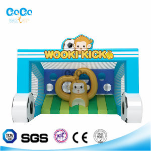 Cocowater Creative Design Inflatable Football Ground Theme Bouncer LG9030 pictures & photos