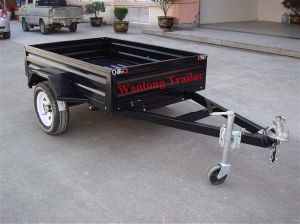 Powder Coated Box Trailer (WT-B64)