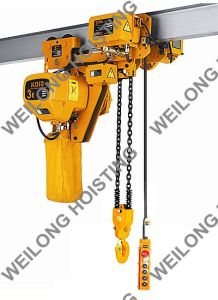 3t Travelling Low Headroom Electric Chain Hoists