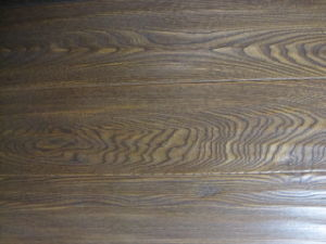Elm Flooring With Hand Scrapted and Stained