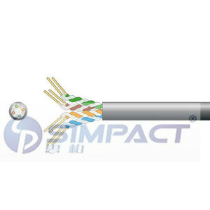 UTP Cat5e Outdoor PE Jacket Cable-Simpact pictures & photos