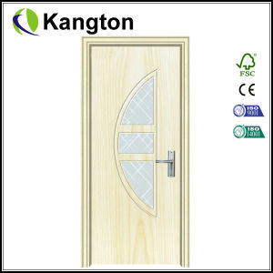 Economical Interior PVC Wooden Door Design (PVC wooden door) pictures & photos