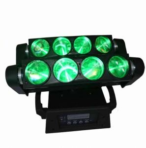 8PCS 10W RGBW 4in1 LED Spider Light Moving Head Light for Stage Disco pictures & photos