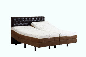 Living Room Electric Bed Adjustable Beds with Massage Function for Wholesale pictures & photos