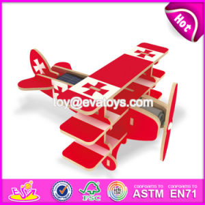 New Design Build Kit Wooden Airplane Toy Funny Kids Wooden Airplane Toy Best Design Children Wooden Airplane Toy W03b064 pictures & photos
