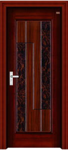 Interior Steel Wooden Door (LTG-105) pictures & photos