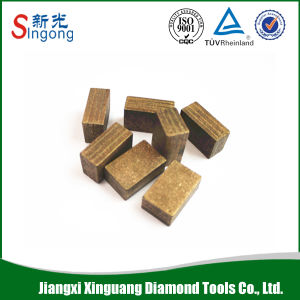 Granite Cutting Diamond Segments Core Drill Bit Tool pictures & photos