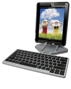 Foldable Bluetooth Aluminium Keyboard and Stand pictures & photos