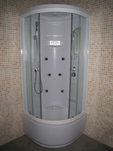 Round Corner Design Steam Shower Bath Cabina Doccia pictures & photos