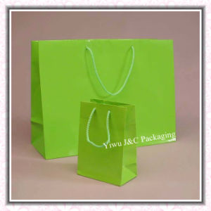Matt Green Paper Gift Bags (JCBB-1073)