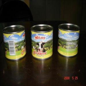 Evaporated Milk/Concentrated Milk with HACCP Certificate
