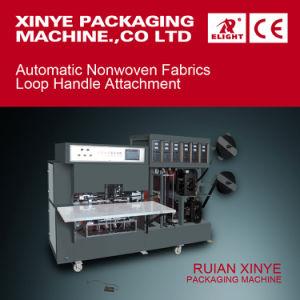 Autoamtic Nonwoven Loop Handle Ultrasonic Welding Machine pictures & photos