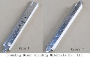 Baier Galvanized Ceiling Tee Bar/Tee Grid pictures & photos