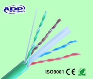 UTP CAT6 LAN Cable CCA (40% copper) Conductor 23AWG/4p pictures & photos