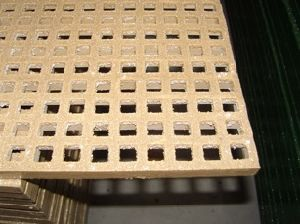 FRP/GRP Pultruded Grating/Pultrusion with Smooth/Plain Surface pictures & photos