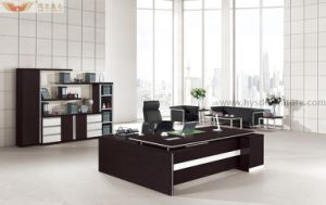 Teak Office Furniture Executive Desk for Sale (HY-BT13) pictures & photos