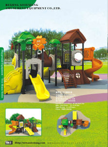 Outdoor Playground Slides (ATX-11061A)