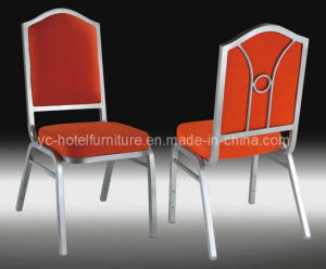 Chair with Special Metal Design Back (YC-B105) pictures & photos