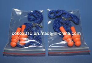 Nylon Cord and PVC Cord Silicone Earplug pictures & photos