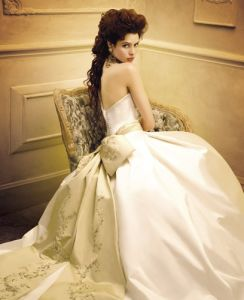Ball-Gown Wedding Dress and Bridal Gown