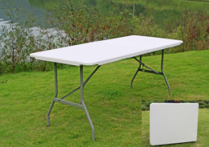 2011 New Series 6-Foot Retangular Fold-in-Half Table pictures & photos